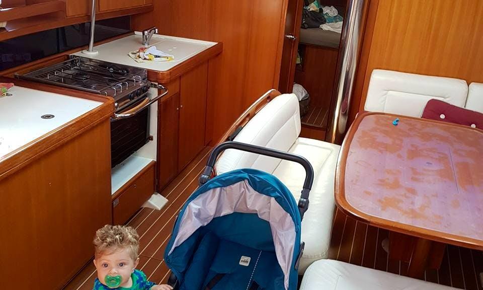 Charter 37' Dufour Cruising Monohull In Monte di Procida, Italy
