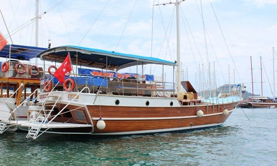 Soak Up The Sun With This Traditional Gulet Charter In Muğla, Turkey