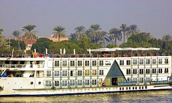 Enjoy Cruising In Al Kom Al Akhdar, Egypt On Miss World Passenger Boat