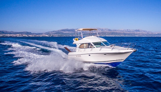 36ft Jeanneau Prestige 36 Fly Motor Yacht Rental In Split, Croatia