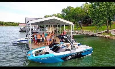 Rent a Tige RZX3 Bowrider on Lake Dallas, Go Surfing or Wake boarding