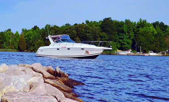 34' Motor Yacht Charter In Chesapeake Bay, Annapolis Md