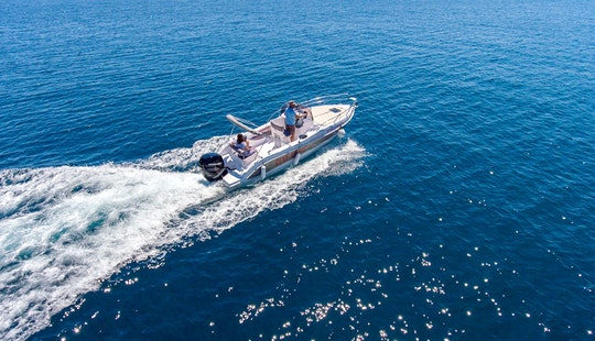 Motor Boat Rental In Rabac & Pula - Bluline 23 By Istriaboats.com