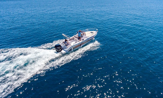 Motor Boat Rental In Rabac - Bluline 23 By Istriaboats.com