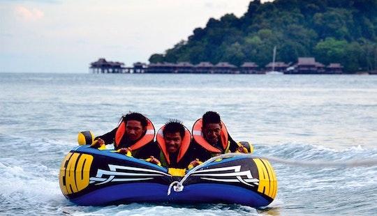 Enjoy Crazy Ufo Rides In Pulau Pangkor, Malaysia