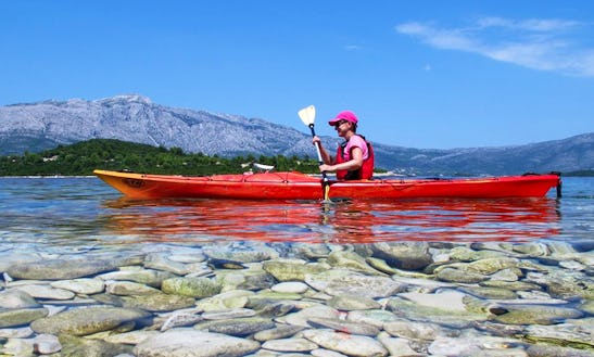 Enjoy Single Kayak Trips In Korčula, Croatia