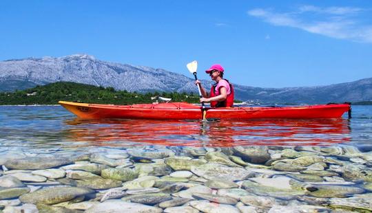 Enjoy Single Kayak Trips In Korčula, Croatia