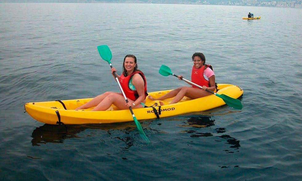 Rent a Double Kayak in Oroklini, Larnaca