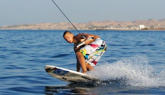 Wakeboarding Session In Red Sea Governorate, Egypt