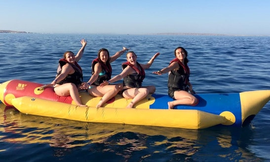 Enjoy Banana Rides In Red Sea Governorate, Egypt