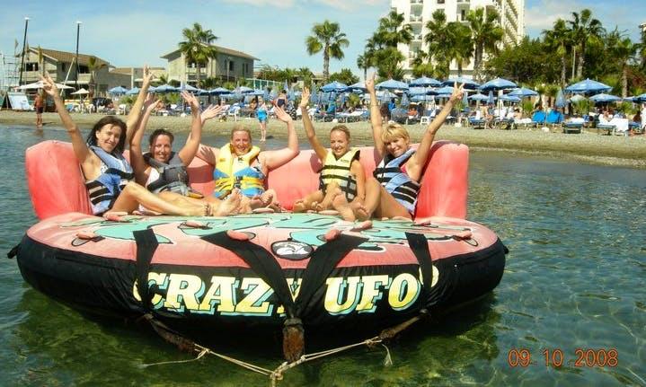 Enjoy Crazy Ufo Rides In Larnaca, Cyprus