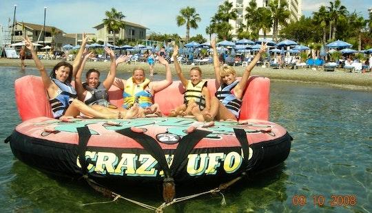 Enjoy Crazy Ufo Rides In Oroklini, Larnaca