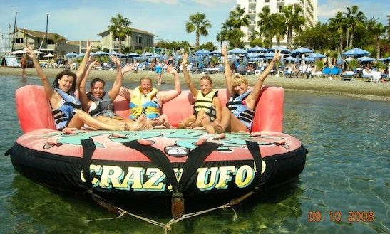 Enjoy Crazy Ufo Rides In Oroklini, Larnaca