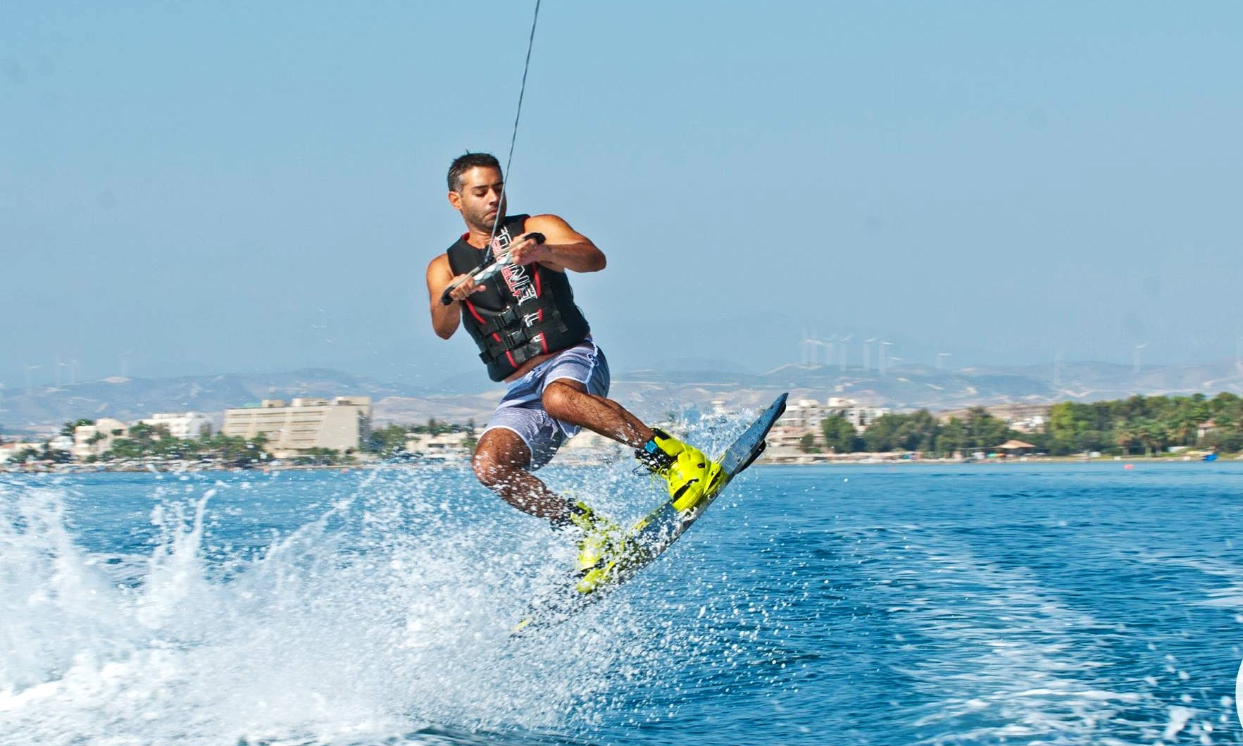 Enjoy Wakeboarding in Oroklini, Larnaca