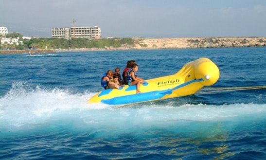 Child Friendly Fly Fish Rides In Paphos, Cyprus