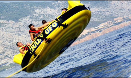 Enjoy Crazy Ufo Rides In Paphos, Cyprus