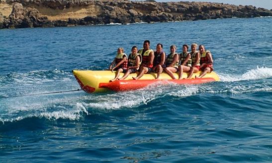 Enjoy Banana Rides In Paphos, Cyprus