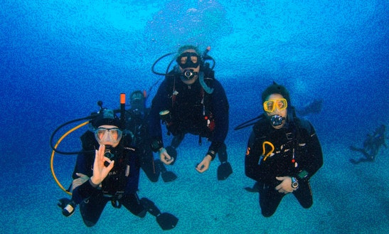 Enjoy Diving In Paphos, Cyprus