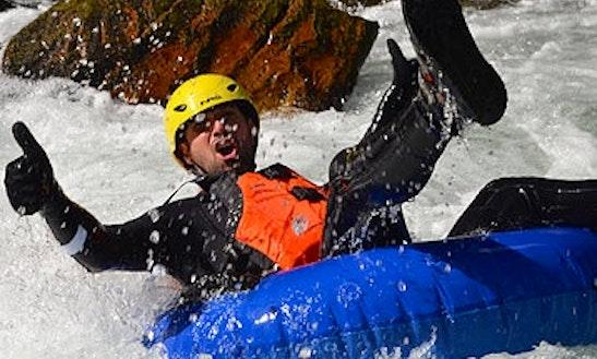 Whitewater Tubing Adventure On Kootenays In British Columbia