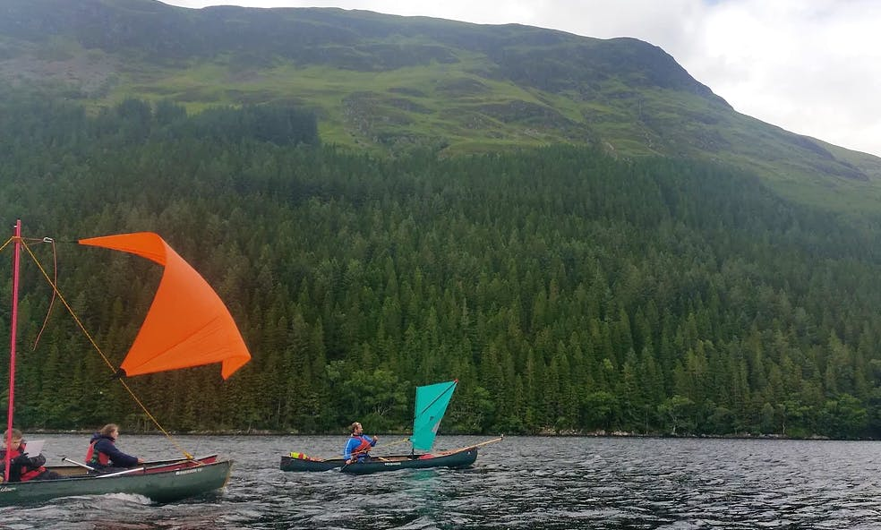 Scottish Canoe Journeys In Kingussie, Scotland