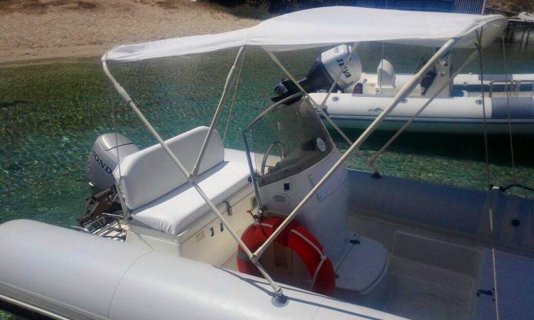 Rent Bat 520 Rigid Inflatable Boat in San Vito Lo Capo, Sicilia