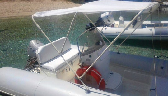 Rent Bat 520 Rigid Inflatable Boat In San Vito Lo Capo, Sicilia