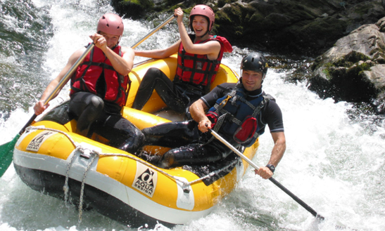 Enjoy Mini Rafting Trips In Bidarray, France