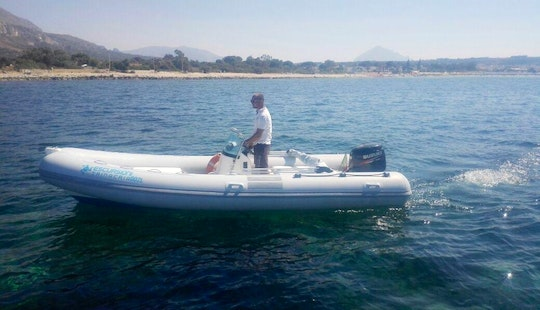 Rent Marshall M100 Rigid Inflatable Boat In San Vito Lo Capo, Sicilia