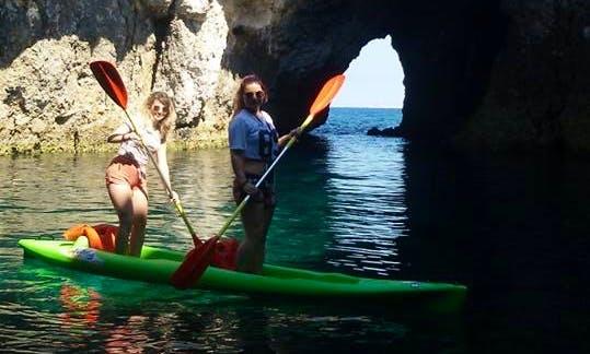 Double Kayak Rentals in Il-Mellieħa, Malta