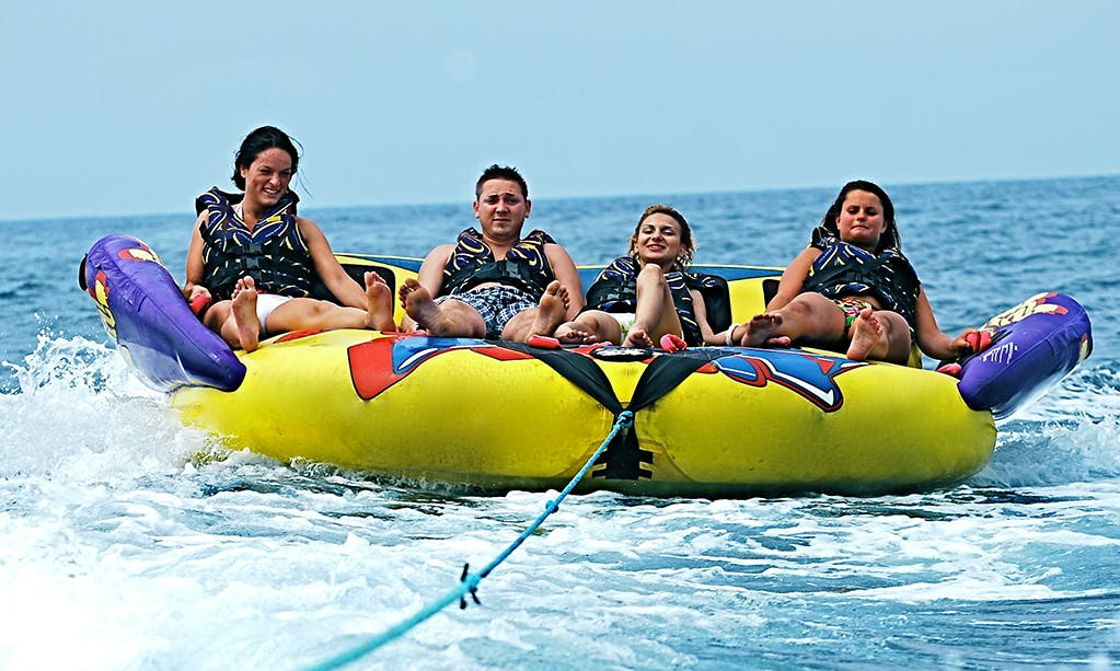 Enjoy Awesome Crazy Sofa Rides for 4 People in Mellieħa, Malta