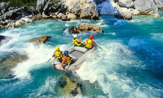Enjoy Rafting Trips In Zagreb, Croatia