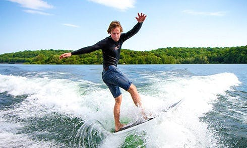 Enjoy Wake Surf Lessons in Yvoire, France