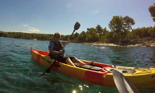 Enjoy Kayak Rentals And Tours At Milna Bay, Croatia