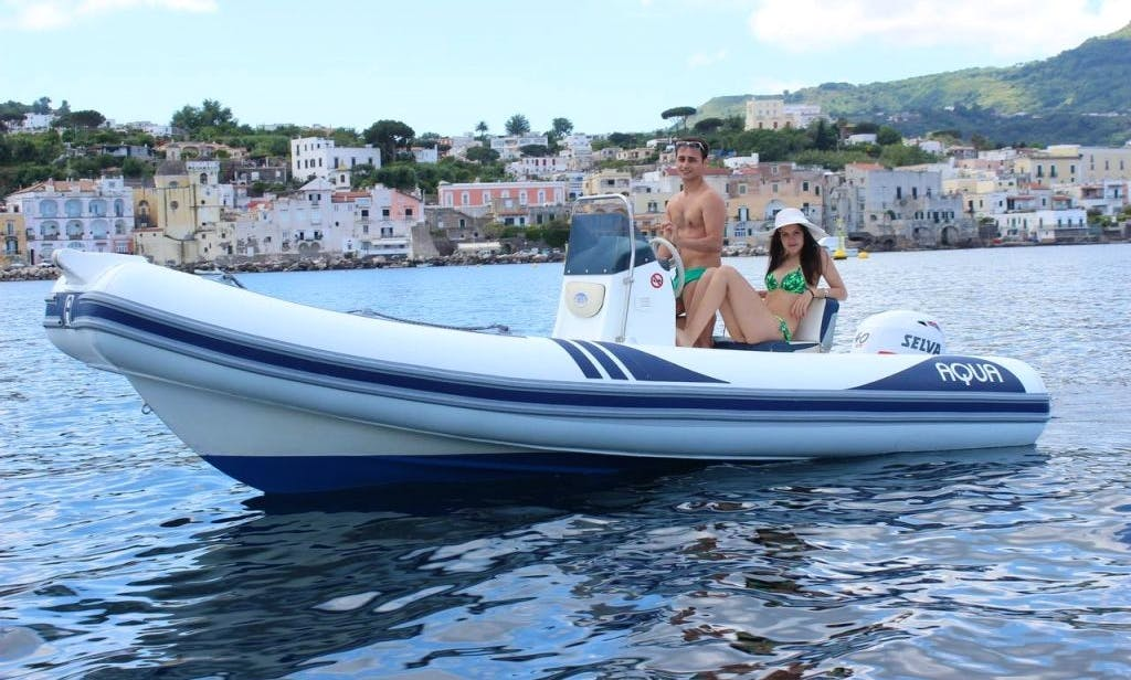 Rent Aqua Rigid Inflatable Boat in Forio, Italy