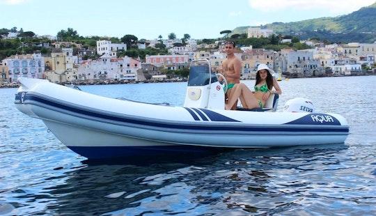 Rent Aqua Rigid Inflatable Boat In Forio, Italy