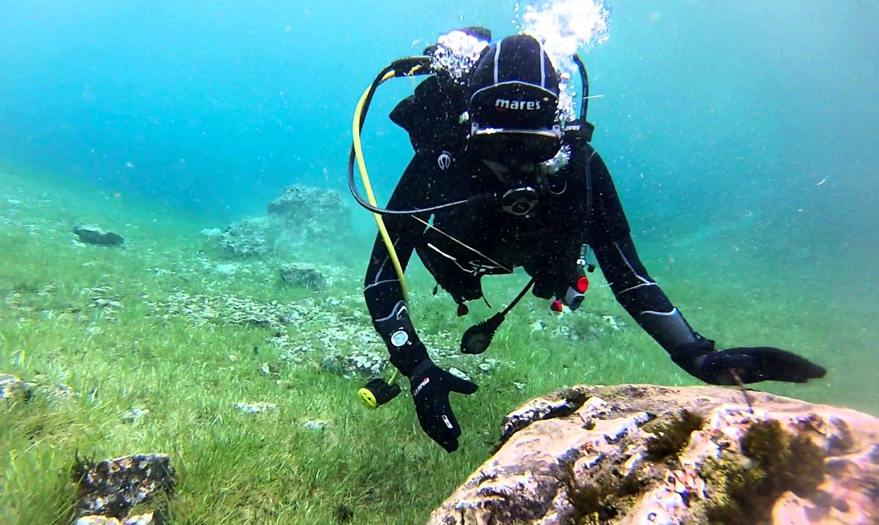 Enjoy Scuba Diving in Knittelfeld, Austria