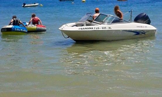 Rent a Bowrider in Faro, Portugal