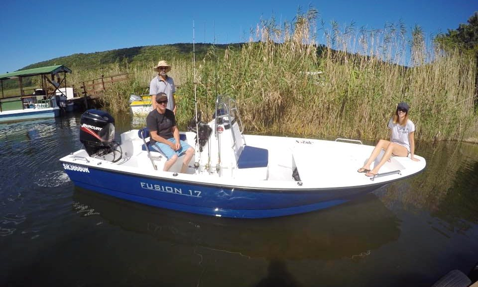 Enjoy Fishing in Sedgefield, Western Cape on Center Console