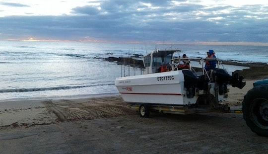 Enjoy Fishing In Margate, South Africa On 28' Power Catamaran