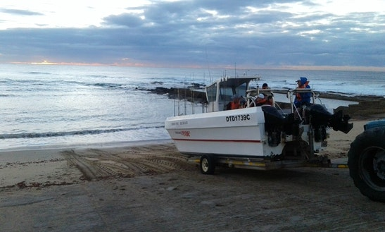 Enjoy Fishing In Margate, South Africa On 28' Power Catamaran