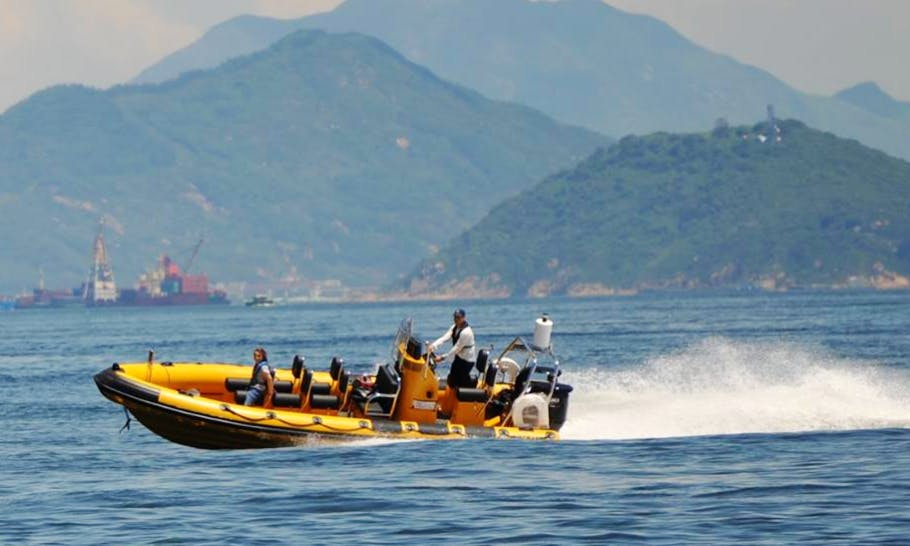 High Speed Power Boat Tour In Hong Kong