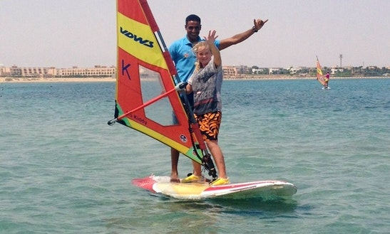 Enjoy Windsurfing Rentals And Lessons In Red Sea Governorate, Egypt
