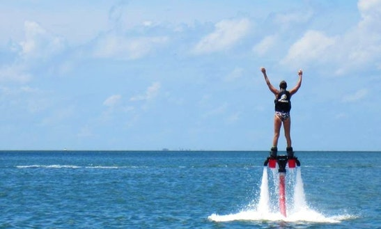 Enjoy Flyboarding In Mesa Geitonia, Limassol