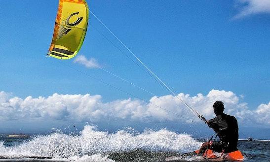 Enjoy Kiteboarding Lessons In Garrucha, Spain