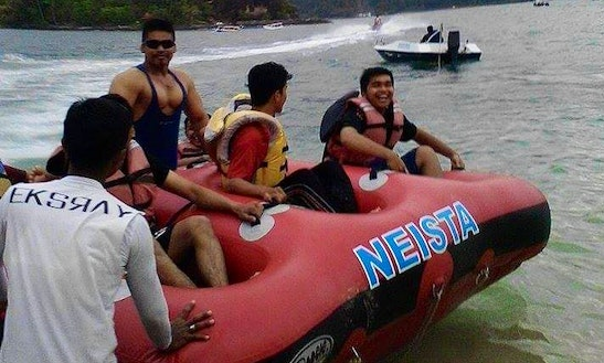Exciting Donut Ride Experience In Sumatera Barat, Indonesia