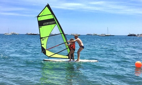 Enjoy Windsurfing In Barano D'ischia, Campania
