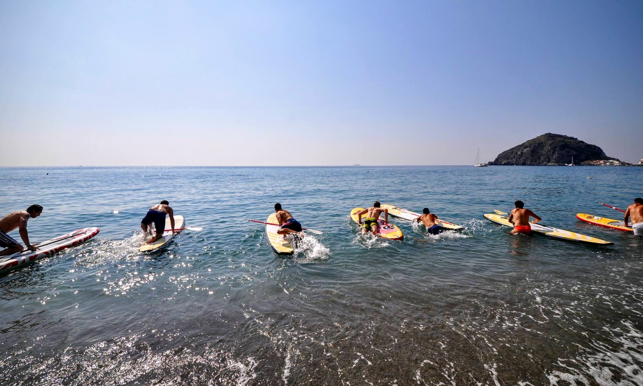 Enjoy Stand Up Paddleboarding in Barano D'ischia, Campania