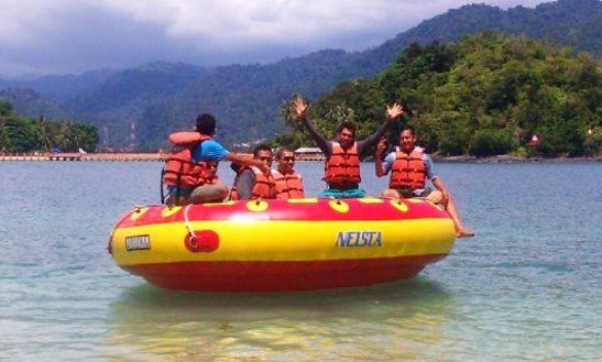 Enjoy Donut Rides In Iv Jurai, Sumatera Barat, Indonesia