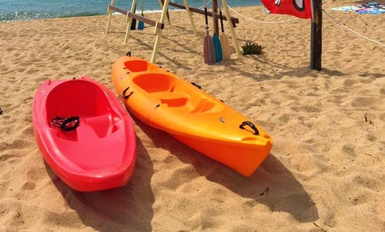 Enjoy Single Kayak Rentals In Orosei, Sardegna