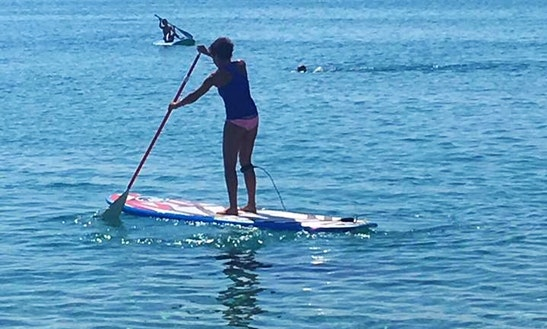 Enjoy Stand Up Paddleboarding In Orosei, Sardegna